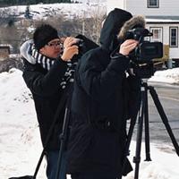 Bee Man filmmakers