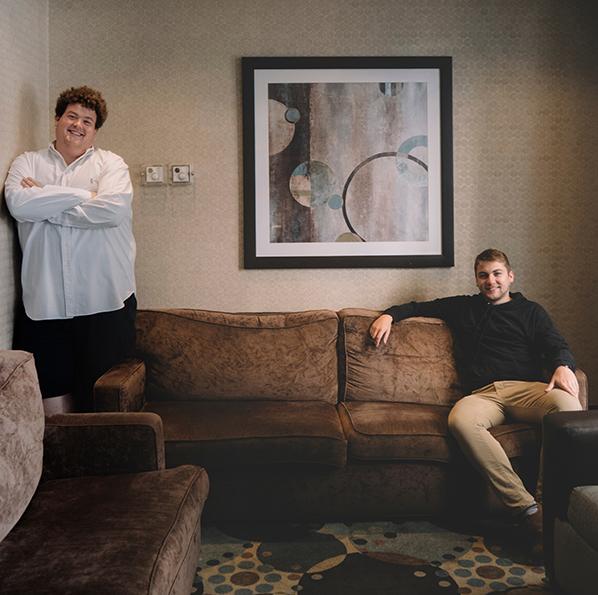Rob Ramsay and Jon Mann
