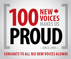 CONGRATS TO OUR NSI NEW VOICES GRADS