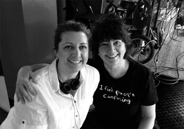 Melanie Orr with Gail Harvey