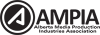 Alberta Media Production Industries Association (AMPIA) logo / Link to AMPIA