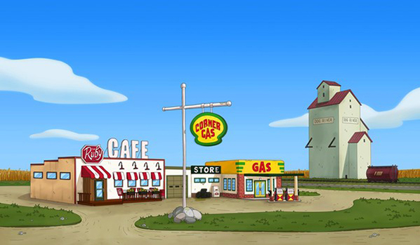 Corner Gas / Link to The Comedy Network