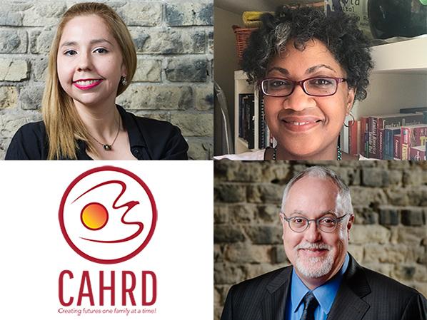 Frances Koncan, Julie Hackett, John Gill, CAHRD / Link to Winnipeg Arts Council