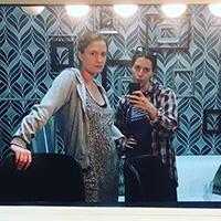 Rachel Cairns and Sarah Hempinstall