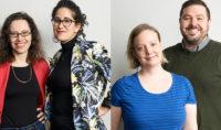 Sarah Goodman, Stephanie Ouaknine, Michelle Ouellet, Nicholas Carella