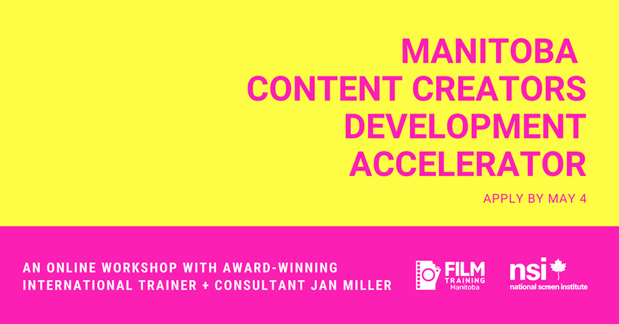 About the Manitoba Content Creators Development Accelerator