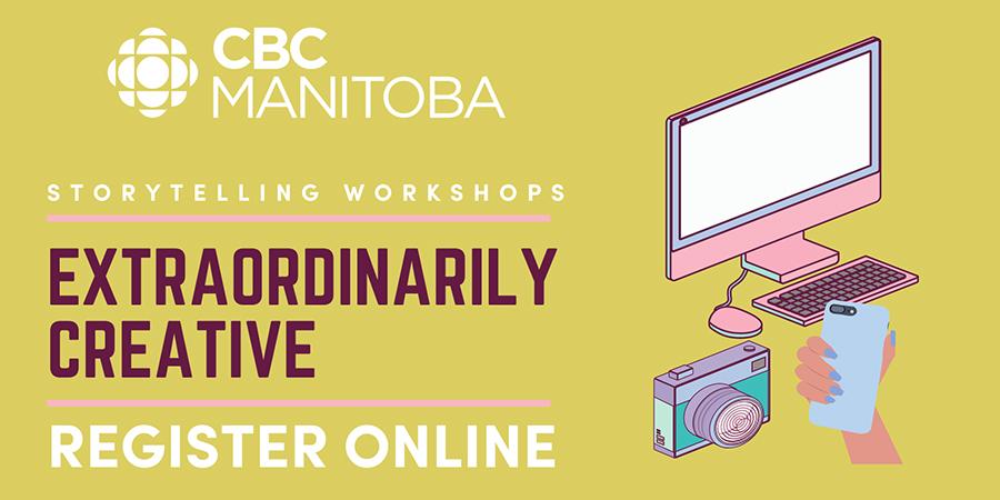 Register for CBC storytelling workshop