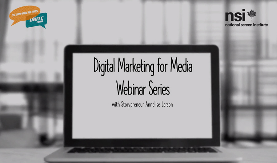 Link to digital marketing for media webinar series