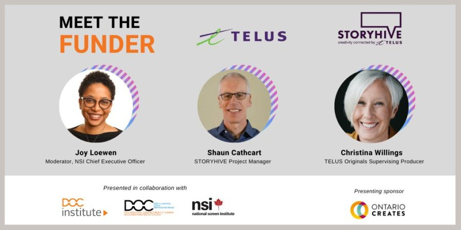 DOC Institute Presents: Meet the Funder
