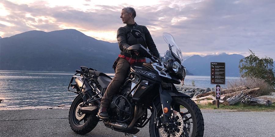 Lori Lozinski's A Motorcycle Saved My Life