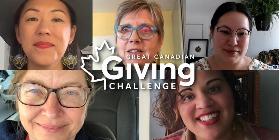 Make a donation via CanadaHelps (thank you!)