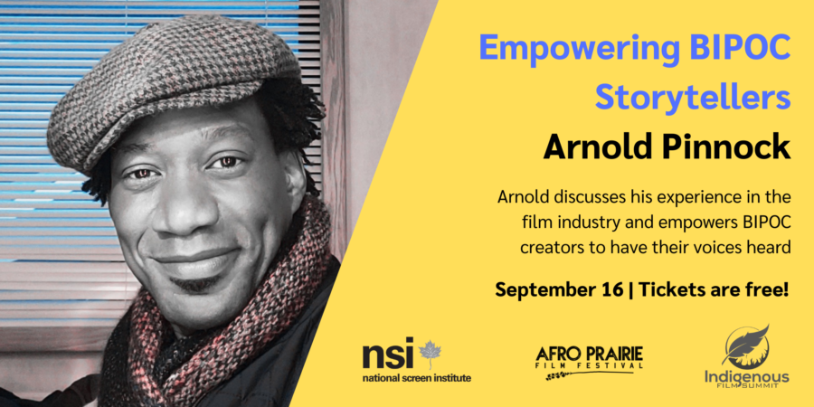 Empowering BIPOC Storytellers: A Conversation with Arnold Pinnock